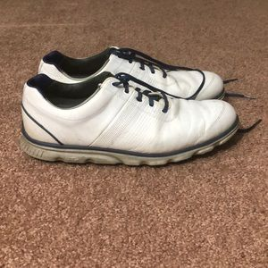 FootJoy White Leather Golf Shoes